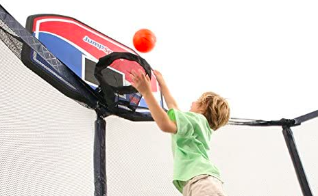 The JumpSport Proflex Trampoline Basketball Hoop is a great product, specifically for JumpSport Trampolines.