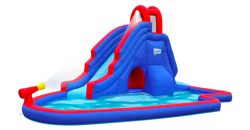 Sunny & Fun Water Park Inflatable Water Slides