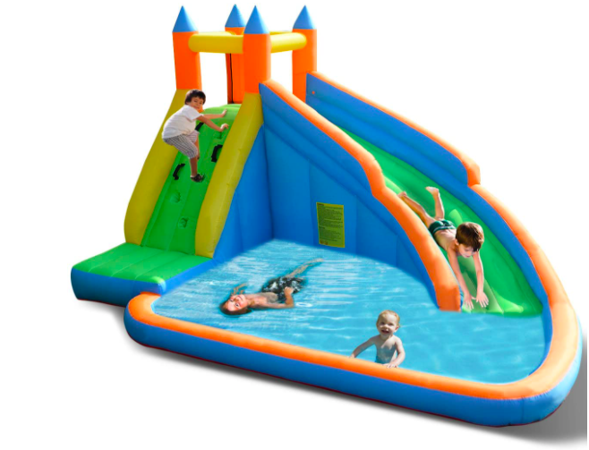 Costzon Inflatable Water Slides