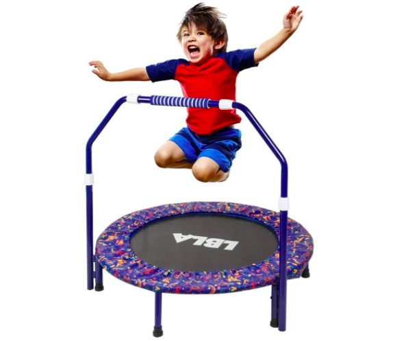 36 Inch Kids Trampoline is a great option for your toddler
