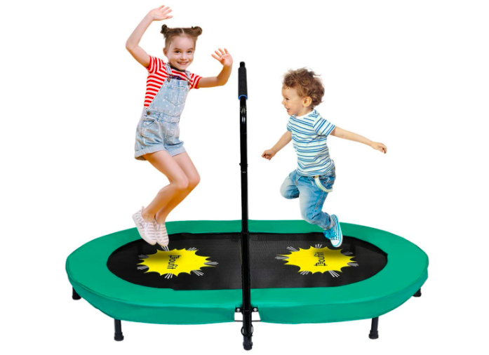 The Doufit Kids Trampoline is perfect for toddlers and young children.