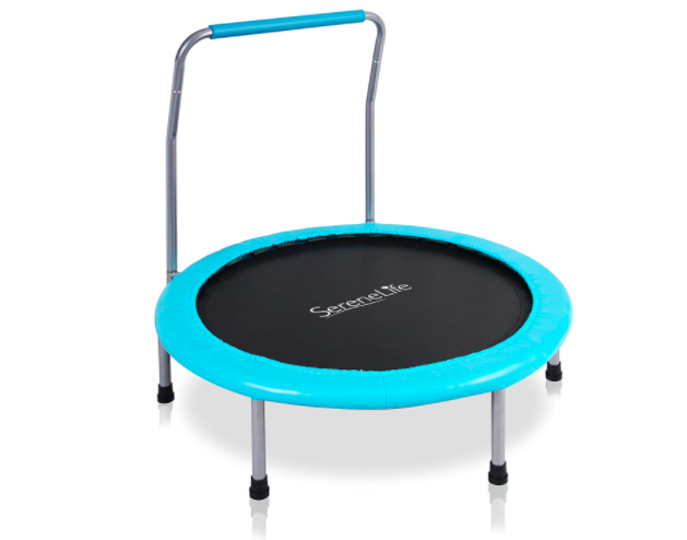 SereneLife Portable Fitness Trampoline, Perfect Toddler Trampoline