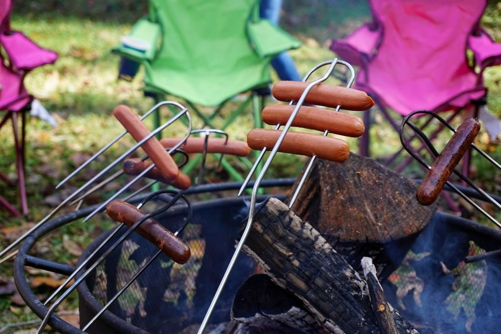 Take the kids out camping in the backyard this summer.
