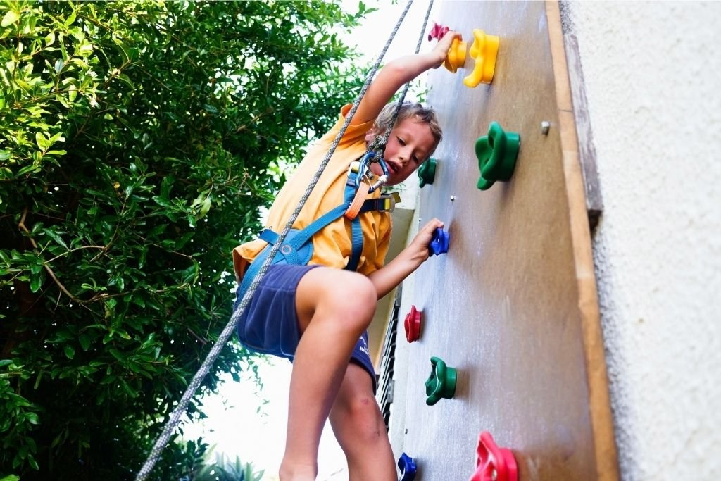 Kids love rock walls. Why not build one in your backyard?