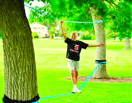 A Top Brand in Slacklines, Slackers' Kit Is Perfect For Kids