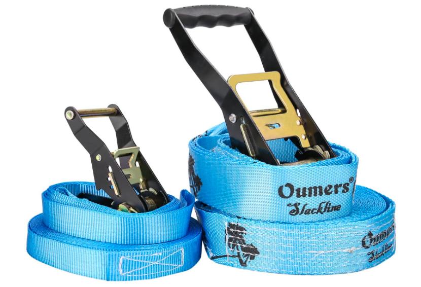 Blue Oumers Slackline Kit