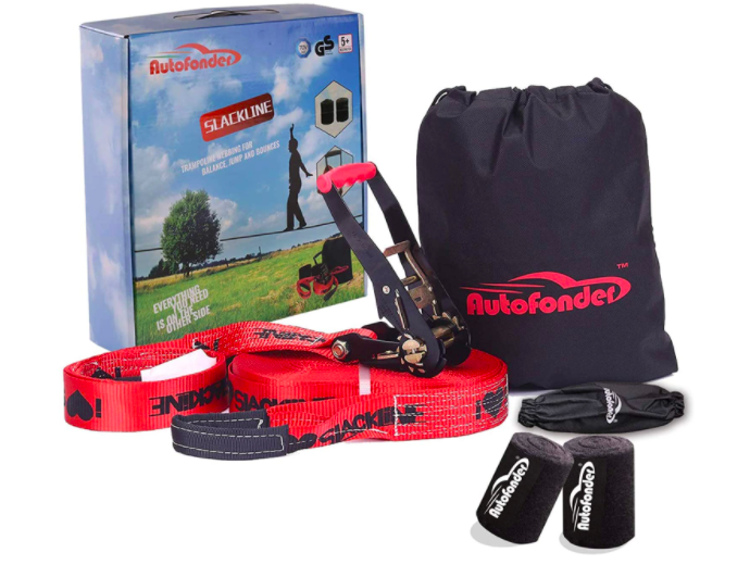 The Autofonder Complete Slackline Kit