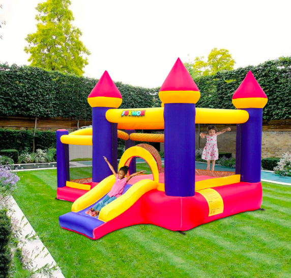 Castle Bounce House with Ball Pit. The Perfect Gift For The Toddler In Your Life.