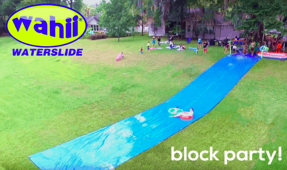 Wahii Waterslide - One of the Best Slip And Slides On The Market.
