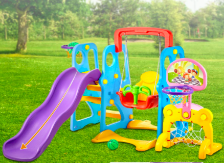 kealive Climber and Swing Set Toddler