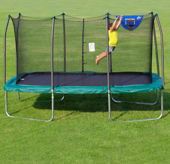 Rectangle And Square Jump-N-Dunk Trampolines