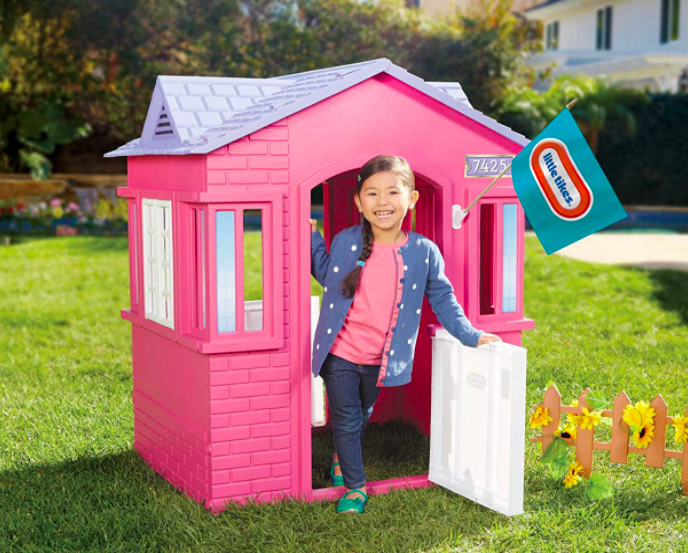 Little Tikes Cape Cottage Outdoor Playhouse For Kids
