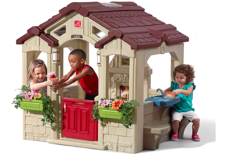 Step2 Charming Cottage Kids Outdoor Playhouse