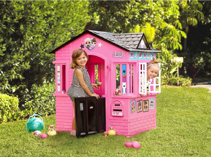 L.O.L. Surprise Indoor & Outdoor Cottage Playhouse For Kids