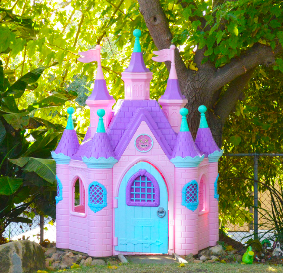 Jumbo Princess Palace Outdoor Playhouse For Kids
