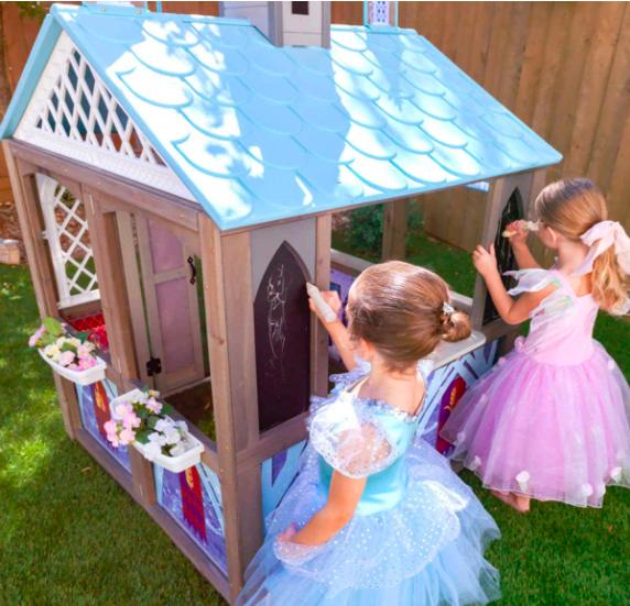 KidKraft Disney's Frozen 2 Arendelle Outdoor Playhouse For Kids