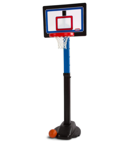 Little Tikes Just Like The Pros Basketball Hoop For Little Kids Is One of The Best Options On The Market.