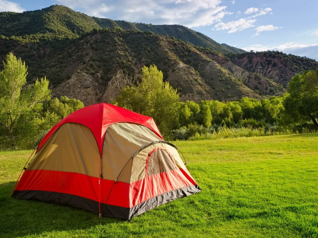 A Tent In The Backyard, One of The Most Important Things To Add To Your Backyard Camping Checklist.