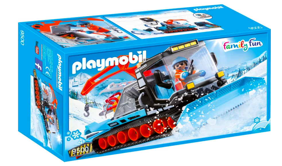Playmobil Snow Plow For Kids.